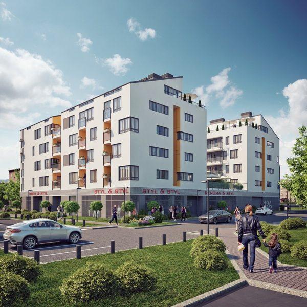 Grodzisk Mazowiecki – Budowa Budynku mieszkalnego wielorodzinnego.