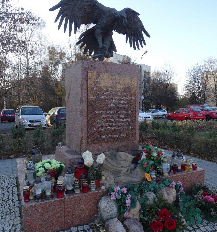 """Warszawa – Bemowo, Pomnik """"Żołnierzy Wyklętych"""""""