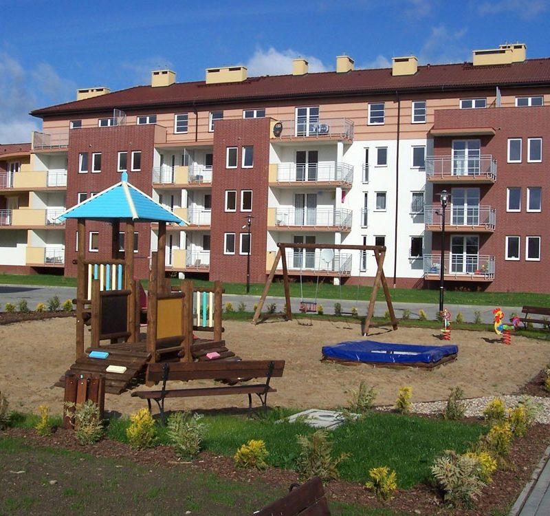 Płońsk – Villa Nova, Osiedle z zagospodarowaniem terenu
