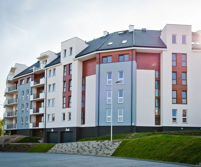 Olsztyn – Villa Solaris, Zespół budynków mieszkalnych z garażem podziemnym