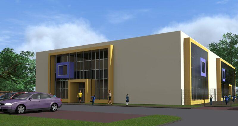 Budowa przedszkola przy ul. Bernardyńskiej 14 – Warszawa