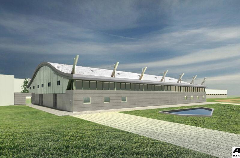 Budowa hali sportowej z płytą lodowiska przy Zespole Szkół Powiatowych w Przasnyszu