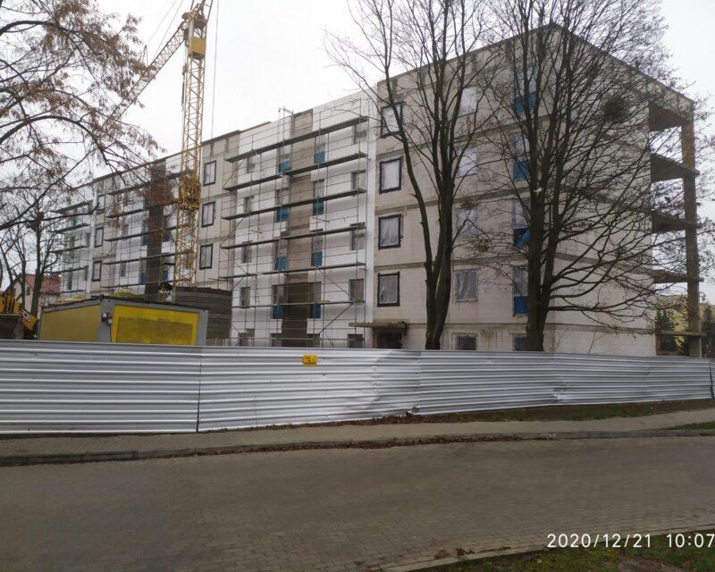 Budowa budynku mieszkalnego 30 rodzinnego przy ul. Wojskowej 20 w Przasnyszu