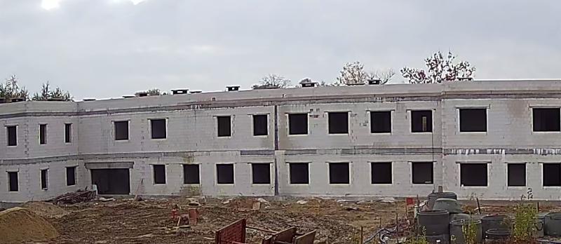 KPP Pułtusk budowa nowej siedziby przy ul. M. Skłodowskiej-Curie 3